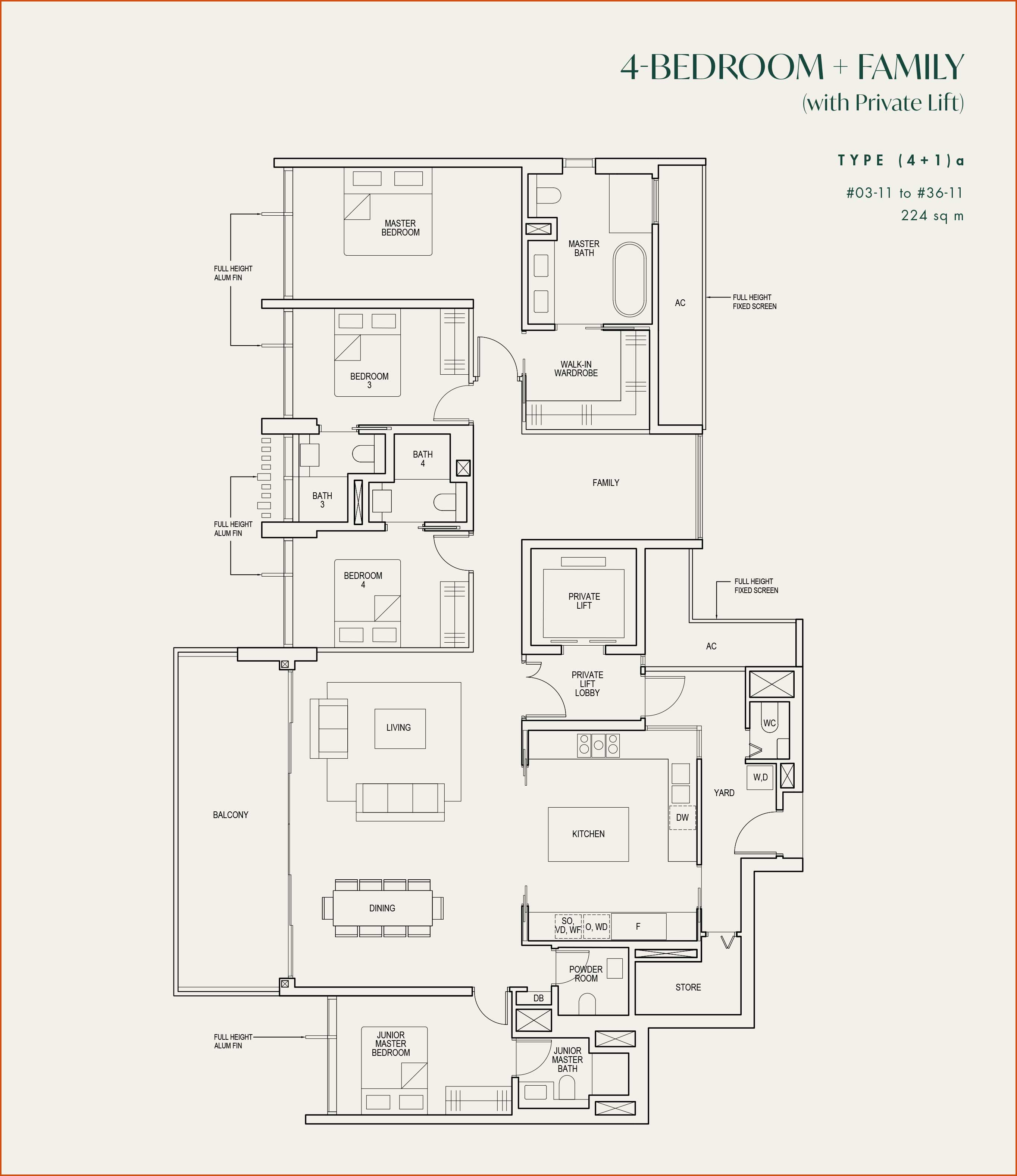 The Avenir Floor Plans And Typical Units